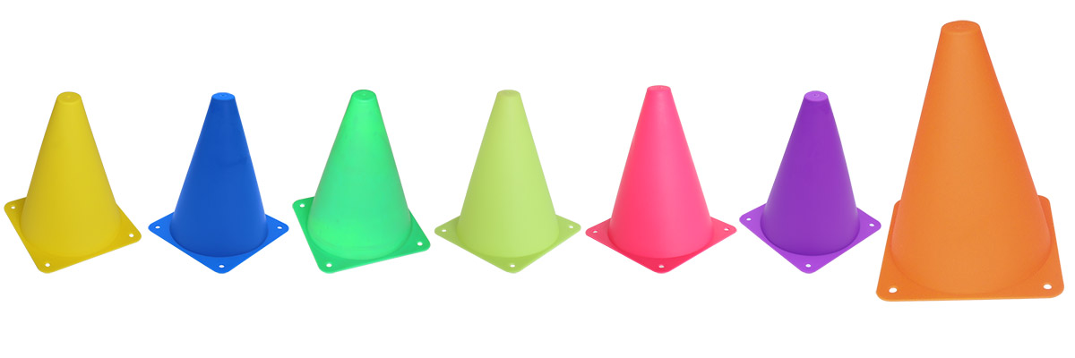 Witch Hat Sports Training Marker Cone TC006